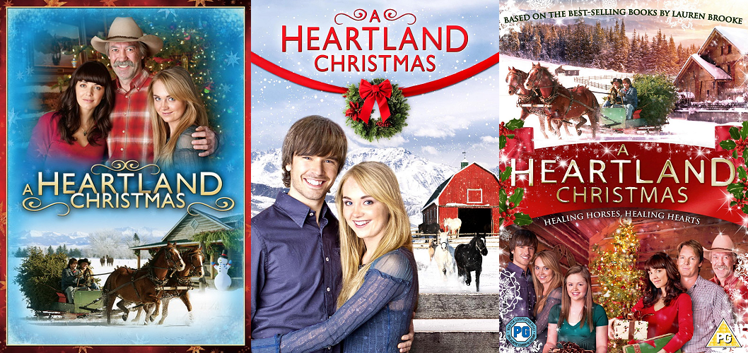 A Heartland Christmas.Amber Marshall Movie Christmas