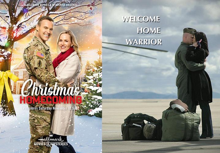 Christmas Homecoming Hallmark.Christmas Homecoming Welcome Home Warrior 2017 Movie